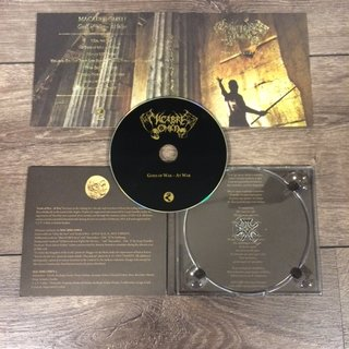 Macabre Omen - Gods Of War - At War (digipack CD)