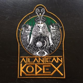 Atlantean Kodex - The Annihilation Of Bavaria Backpatch (last copies!)