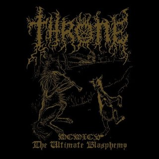 Throne - MCMXCV: The Ultimate Blasphemy 12 LP