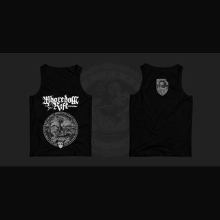 Whoredom Rife - BLACK Lambs to Slaughter Wifebeater Shirt