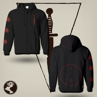 (DOLCH) - Feuer (Hooded Jacket)