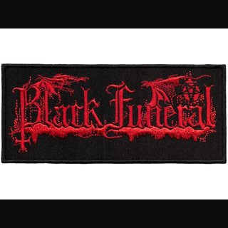 Black Funeral - Logo (Patch)