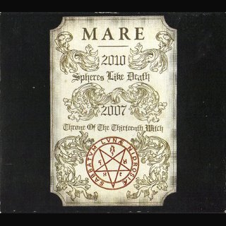 Mare - Spheres Like Death & Throne Of The Thirteenth Witch (digiCD)